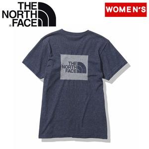 THE NORTH FACE(ザ・ノースフェイス) S/S SQUARE LOGO JACQUARD TEE(スクエアロゴジャカードティー レディース) NTW12008 レディース速乾性半袖Tシャツ