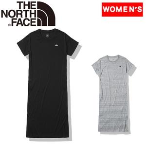 THE NORTH FACE(ザ・ノースフェイス) 【21春夏】S/S ONEPIECE CREW(ショート スリーブ ワンピース クルー) ウィメンズ NTW32145 レディース速乾性半袖Tシャツ