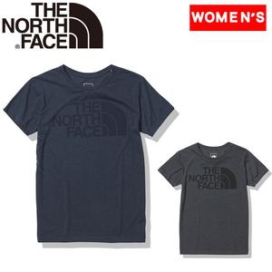 THE NORTH FACE(ザ・ノースフェイス) 【21春夏】S/S COLOR HEATHER LOGO TEE ウィメンズ NTW32151 レディース速乾性半袖Tシャツ
