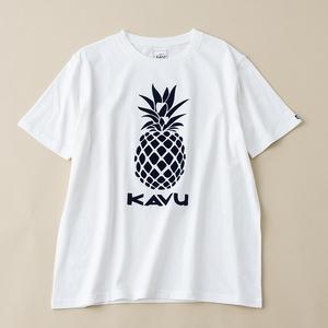 KAVU(カブー) Pineapple Tee Men's(パイナップル Tシャツ メンズ) 19821411010005