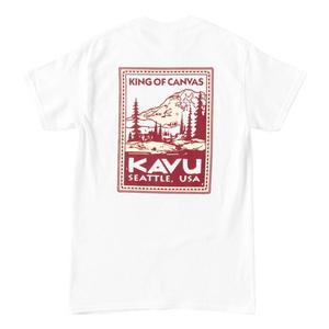 KAVU(カブー) Stamp Tee Men's(スタンプ Tシャツ メンズ) 19821430044007