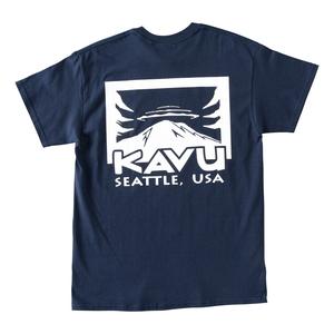 KAVU(カブー) 【21春夏】Rainier Tee Men's(レイニア Tシャツ メンズ) L ネイビー 19821431052007