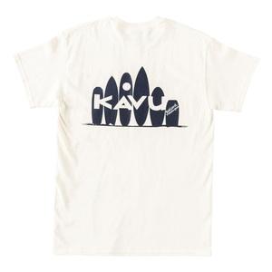 KAVU(カブー) 【21春夏】Surfing Tee(サーフィン Tシャツ) L ナチュラル 19821434017007