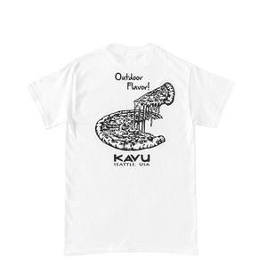 KAVU(カブー) 【21春夏】Pizza Tee(ピザ Tシャツ) 19821435010007