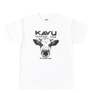 KAVU(カブー) 【21春夏】Cow Tee Men's(カウ Tシャツ メンズ) 19821439010007