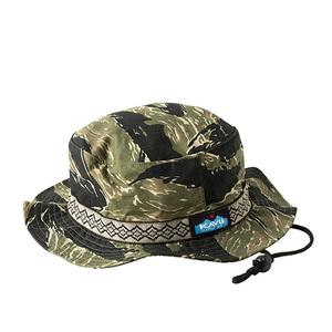 【送料無料】KAVU(カブー) 【21春夏】Ripstop Strap Bucket Hat リップストップストラップバケットハット M タイガー 19821420029005