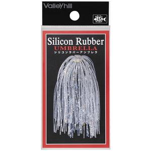 バレーヒル(ValleyHill) SILCONE RUBBER UMBRELLA(シリコンラバー アンブレラ) #106 クリアー×ホログラム