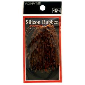 バレーヒル(ValleyHill) SILCONE RUBBER UMBRELLA(シリコンラバー アンブレラ) #210 オレンジブラウン×プリンテッドレッド