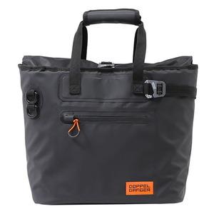 ドッペルギャンガー(DOPPELGANGER) ターポリン シングル サイド トートバッグ DBT510-BK サイドバッグ
