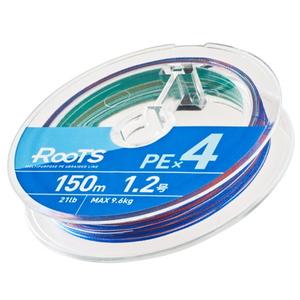 ゴーセン(GOSEN) RooTS(ルーツ) PE×4 150m GMR451506