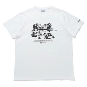 Columbia(コロンビア) ヤハラフォレスト ショートスリーブ Tシャツ メンズ PM0176