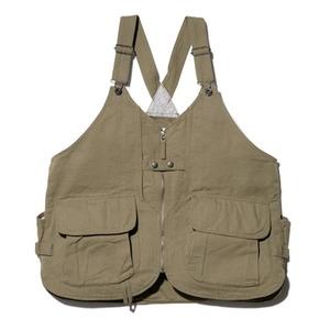 スノーピーク(snow peak) 【21春夏】TAKIBI Duck Vest Men's(タキビ ダック ベスト メンズ) JK-20AU10603OL