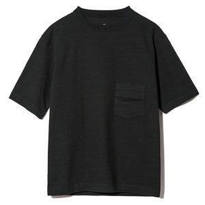 スノーピーク(snow peak) 【21春夏】Heavy Cotton Tshirt (ヘビー コットン Tシャツ) SW-21SU10104BK