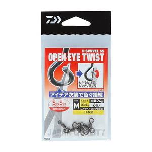 ダイワ(Daiwa) DスイベルSS オープンアイツイスト M 07346972