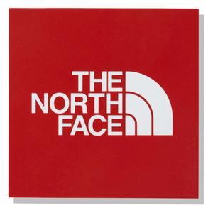THE NORTH FACE(ザ・ノースフェイス) 【21春夏】TNF SQUARE LOGO STICKER MINI スクエア ロゴステッカー ミニ レッド(R) NN32015