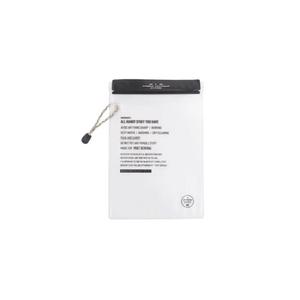 POST GENERAL(ポストジェネラル) THE WATERPROOF BAGS M -PACK2- M BLACK 982170011