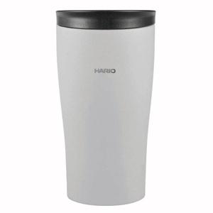ハリオグラス (HARIO) フタ付き保温タンブラー300 STF-300-GR
