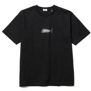 ナンガ(NANGA) ナンガ ロゴ Tシャツ 2021 N1N2BKF3
