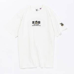 ジーアールエヌアウトドア(grn outdoor) LOVE BEER S/S TEE GO1136F
