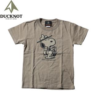 ダックノット(DUCKNOT) 【DUCKNOT×SNOOPY】ランタンTシャツ キッズ 721102