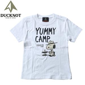 ダックノット(DUCKNOT) 【DUCKNOT×SNOOPY】スキレットTシャツ キッズ 721103