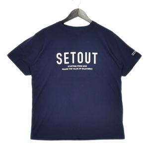 SETOUT(セトアウト) グラフィック レギュラー Tシャツ メンズ