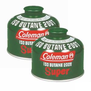 Coleman(コールマン) 純正イソブタンガス燃料(Tタイプ)230g×2【2点セット】 5103A200T