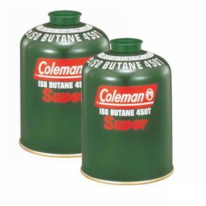 Coleman(コールマン) 純正イソブタンガス燃料(Tタイプ)470g×2【2点セット】 5103A450T