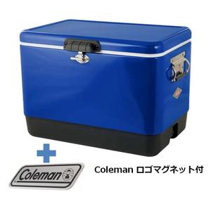 Coleman(コールマン) 54QTスチールベルトクーラー+コールマン ロゴマグネット【2点セット】 3000004390