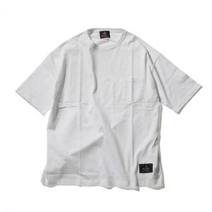 ダックノット(DUCKNOT) ビッグシルエット ポケットTシャツ フィールドアスレチックロゴ 721221