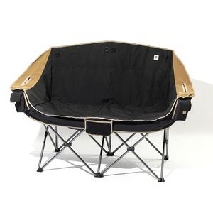 【送料無料】ジーアールエヌアウトドア(grn outdoor) 60/40Cloth Twin Sofa Chair フリー BLACK GO1450F