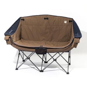 【送料無料】ジーアールエヌアウトドア(grn outdoor) 60/40Cloth Twin Sofa Chair フリー BROWN GO1450F