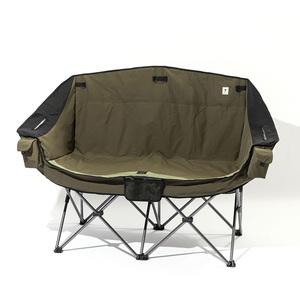【送料無料】ジーアールエヌアウトドア(grn outdoor) 60/40Cloth Twin Sofa Chair フリー OLIVE GO1450F