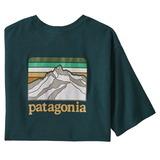パタゴニア(patagonia) 【21秋冬】メンズ ライン ロゴ リッジ ポケット レスポンシビリティー 38511 メンズ速乾性半袖Tシャツ