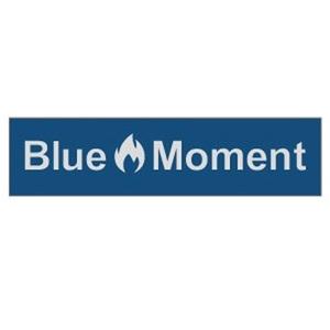 Blue Moment(ブルー モーメント) Blue Moment ステッカー(小)