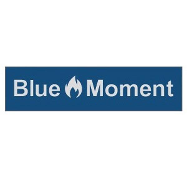 Blue Moment(ブルー モーメント) Blue Moment ステッカー(小) ステッカー