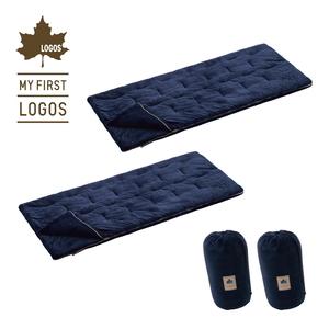 ロゴス(LOGOS) 【数量限定!】寝袋2個セット R12BA003