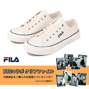 FILA(フィラ) 【BTSコラボ クリアファイル付き】FILA BUMPER(フィラ バンパー) 1XM01550D
