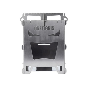 OneTigris(ワンティグリス) ROCUBOID ミニ焚き火台 ソロストーブ CE-CHL04-A
