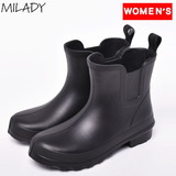 Milady(ミレディー) 超軽量レインシューズ ML736 12147360 ブーツ・長靴 ショート(レディース) 超軽量レインシューズ ML736 超軽量レインシューズ ML736
