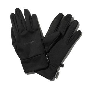 スノーピーク(snow peak) 【21秋冬】Wind Protection Gloves(ウインド プロテクション グローブ) AC-21AU00604BK