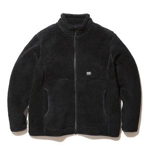 スノーピーク(snow peak) 【21秋冬】Wool Fleece Jacket(ウール フリース ジャケット) JK-21AU11104BK