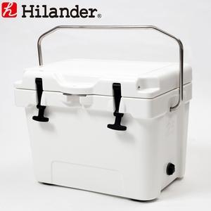 【送料無料】Hilander(ハイランダー) ハードクーラーボックス 25L ホワイト HCA0224