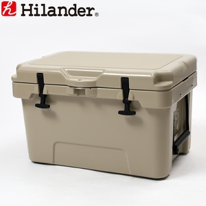 【送料無料】Hilander(ハイランダー) ハードクーラーボックス 35L タン HCA0227
