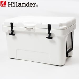 【送料無料】Hilander(ハイランダー) ハードクーラーボックス 45L ホワイト HCA0228