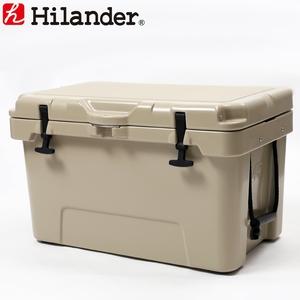 【送料無料】Hilander(ハイランダー) ハードクーラーボックス 45L タン HCA0229