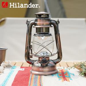 Hilander(ハイランダー) アンティークLEDランタン HCA0230 電池式