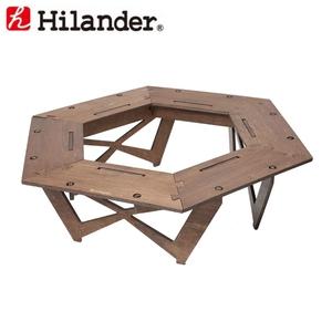 Hilander(ハイランダー) プライウッドヘキサゴンテーブル HCA0233