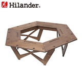 Hilander(ハイランダー) プライウッドヘキサゴンテーブル HCA0233 BBQ&七輪&焚火台アクセサリー