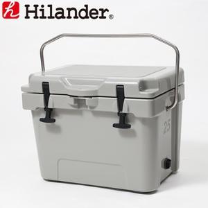 【送料無料】Hilander(ハイランダー) ハードクーラーボックス 25L グレー HCA0251